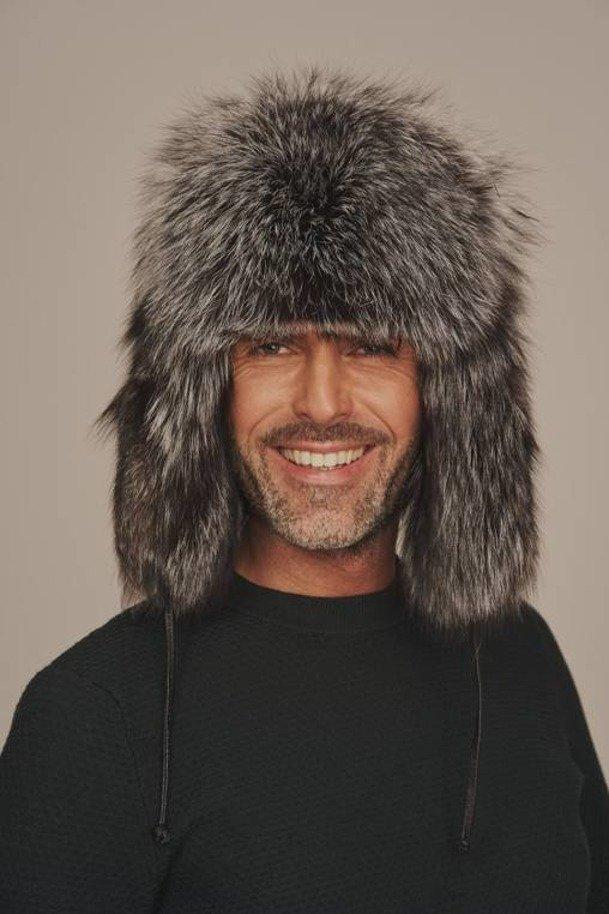 Pánská kožešinová ušanka - Kožešinová čepice