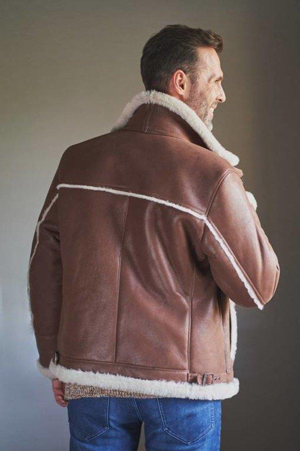 Aviator jakke herre