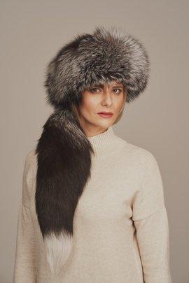 Dámska zimná čiapka kožušinová