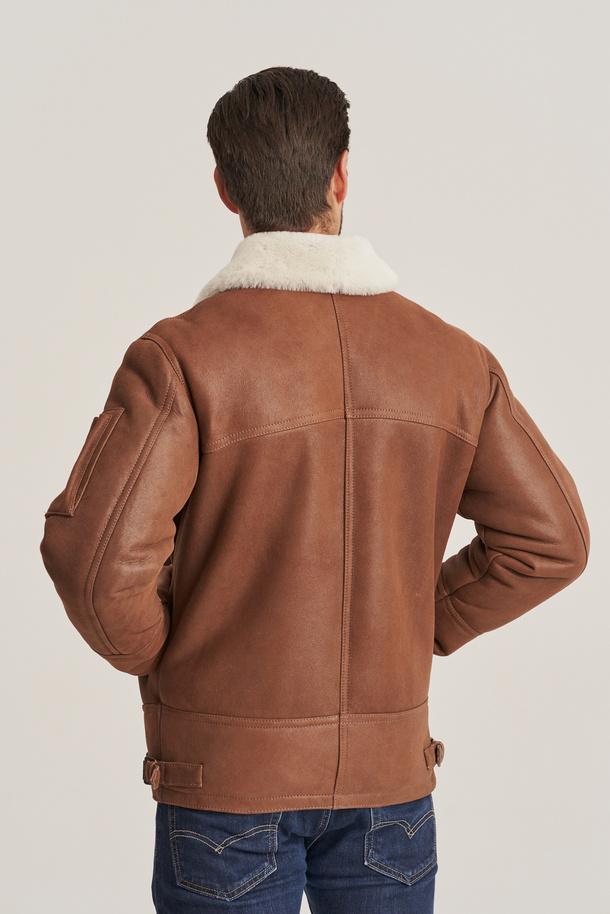 Pánska pilotná bunda - Pánsky kožuch