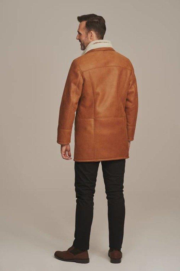 Pánský zimní kabát dlouhý