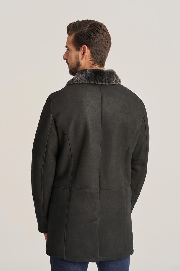 Pánsky zimný kabát - Pánsky kožuch